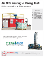 PDS_Air Drill Misting Mixing Tank